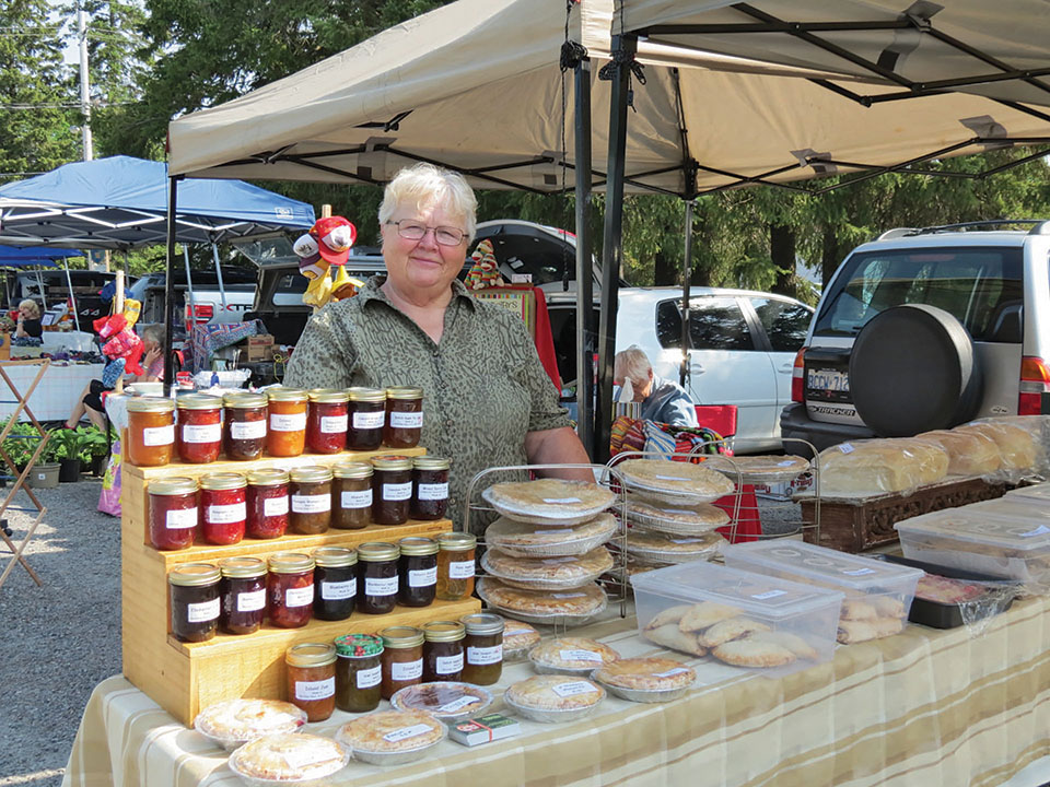 Market organizer Christine Hass has seen an increase in vendors from eight in the first year to more than 50 this summer.