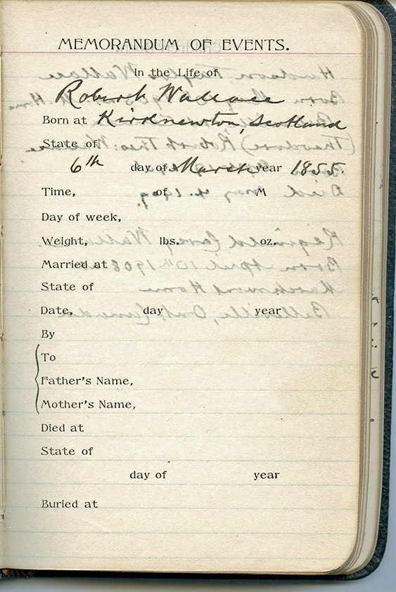 Part of the new Archives' mandate includes scanning historic documents for online access, such as the diary of Rev. Robert Wallace.Photo by Bob House / courtesy Community Archives of Belleville and Hastings County