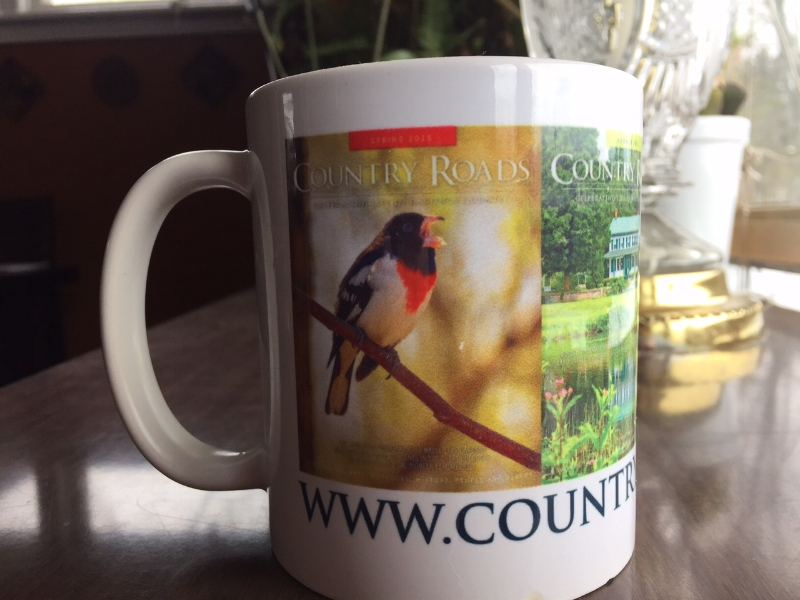 Paula S. from Stirling is the winner of this limited-edition Country Roads coffee mug