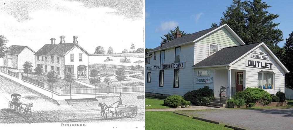 James Jamison Residence (c.1866) – Tweed, historic photo courtesy G. Ketcheson/CABHC