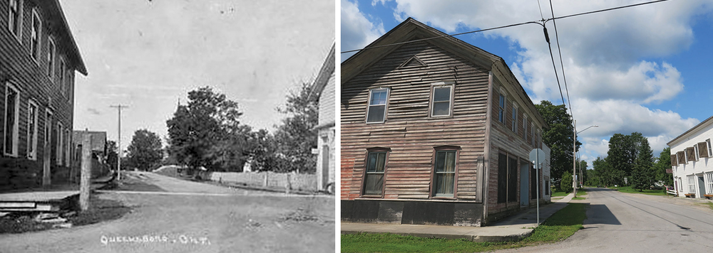The American Hotel (1854) – Queensborough. Historic image courtesy Marmora Historical Society (Photos American Hotel (2) & (3))