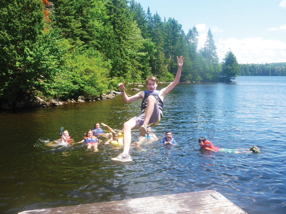 Long summer days at camp are perfect for making friends, learning new skills, building confidence, and having a great time! Photo Courtesy of Cedar Ridge Camp.