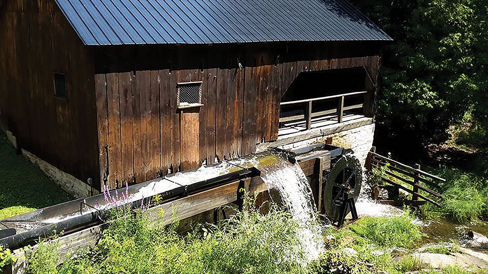 The site's sawmill has been lovingly restored and is now operational Photo courtesy O'Hara Mill Homestead & Conservation Area