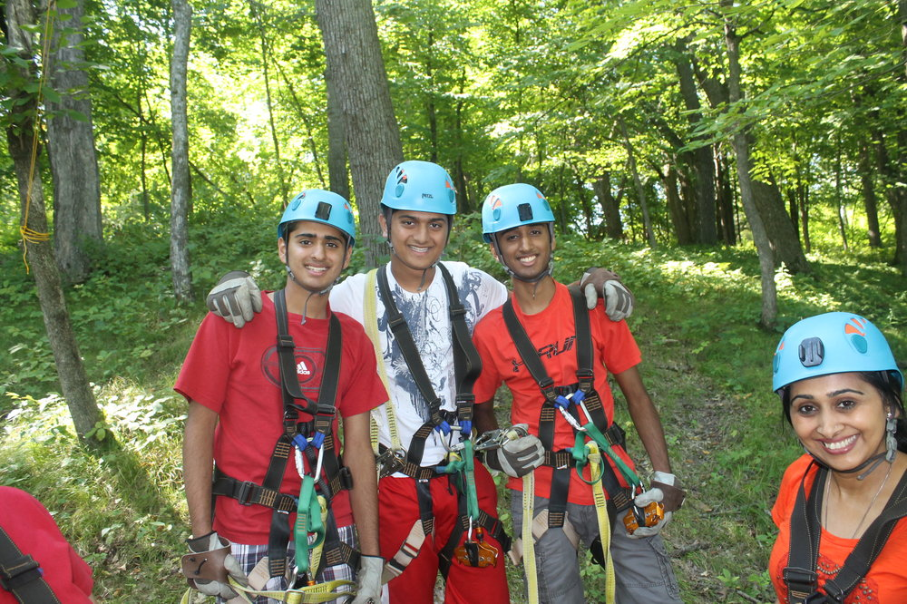 Great Zip Line Group in Minnesota