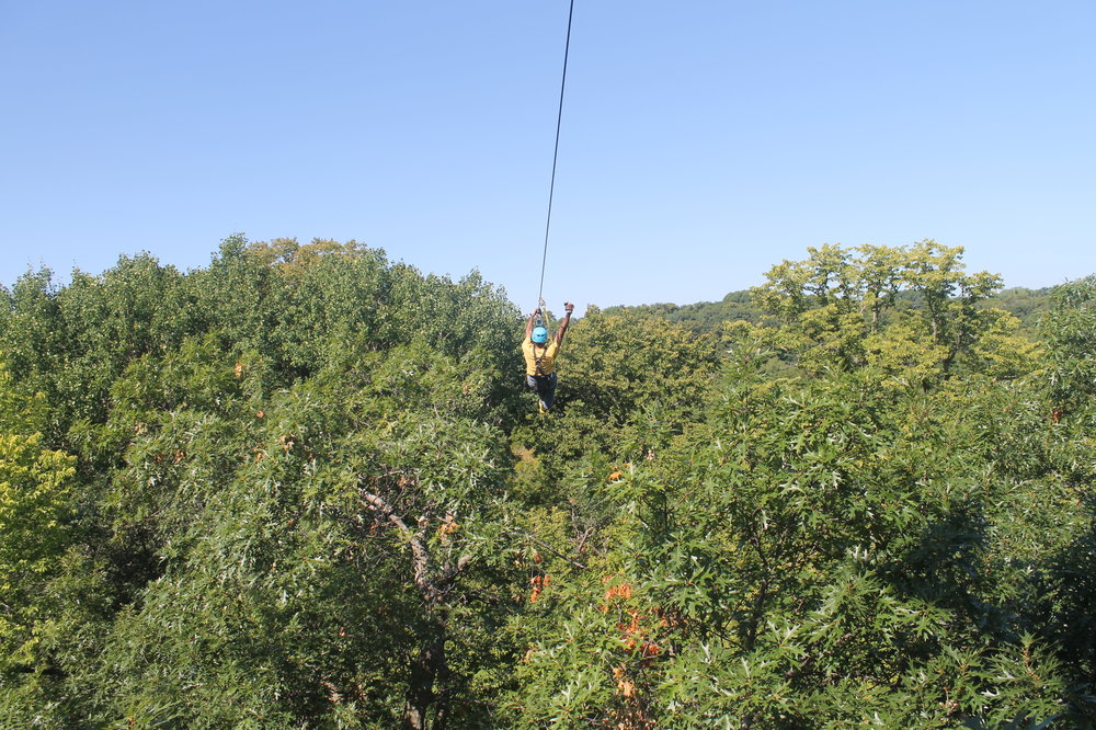 Zip Line Adventure Minnesota River Valley