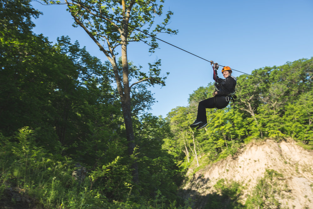 Minnesota Experience Gift of Zip Lining