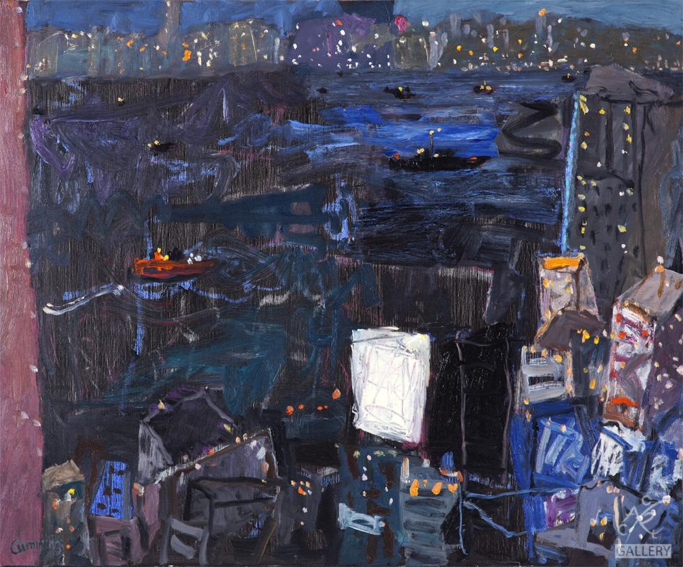 Night Harbor Hong Kong