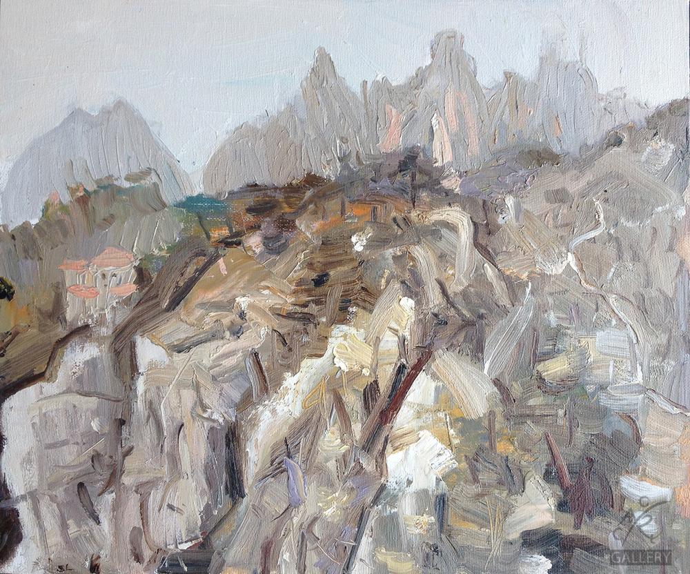 Study 1, Yellow Mountain
