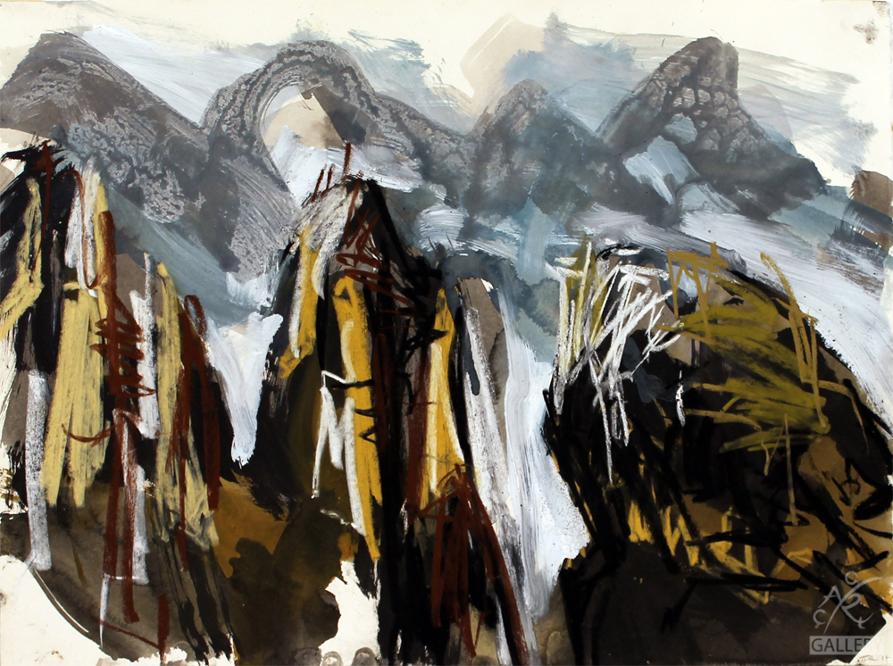 Receeding peaks (Zhangjiajie)