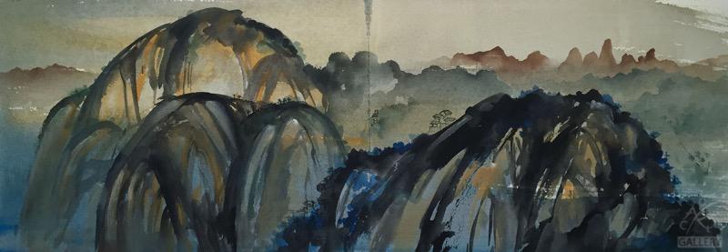 View of Danxia Peak