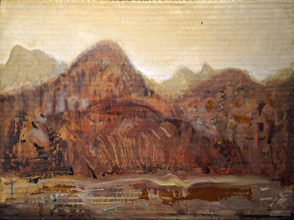 Along the Range, Mountain Study II