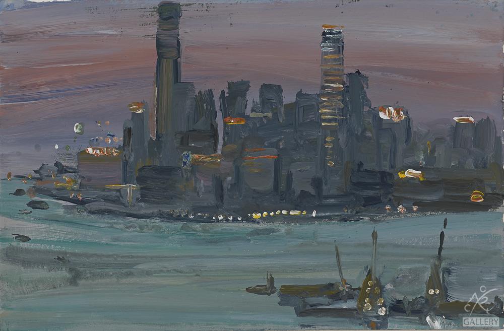Kowloon Dusk