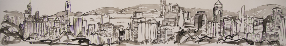 Panorama sketchbook #3