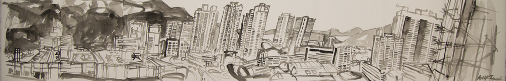 Panorama sketchbook #4