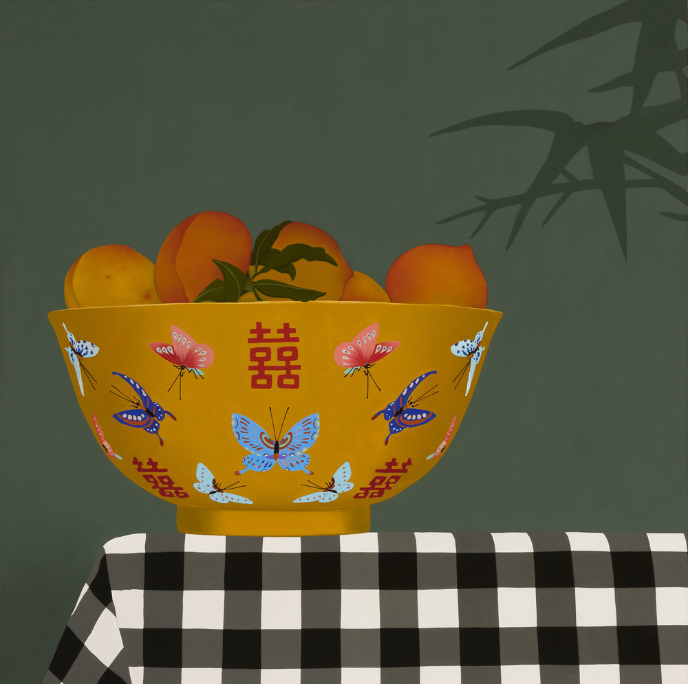 Still Life with Chinese Yellow Bowl
