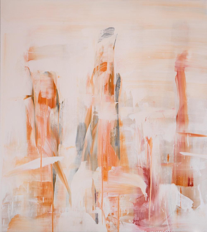 Veiled Landscape-Zahnjiajie 2, 2018, acrylic pigment on canvas, 189 x 169 cm.jpg