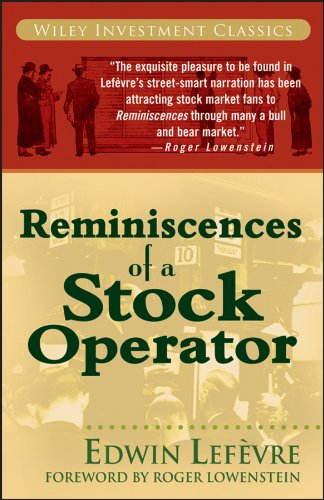 REMINISCENCES OF A STOCK OPERATOR -