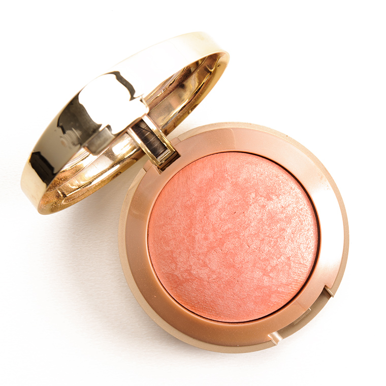 Both blushes are infused with flecks of gold and bronze, giving the same look for a fraction of the price!
