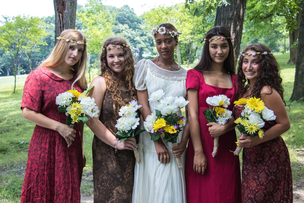 How many bridesmaids do you have? CHC wants each and every one to feel special & beautiful in their dress.