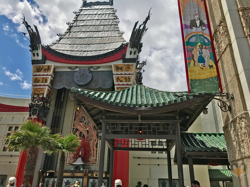 The main entrance of the former queue now sits lonely, with the marquee below the pagoda missing the attraction signage.