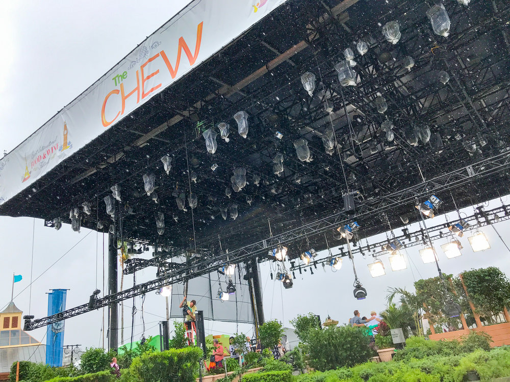 It was a rainy day when I attended the taping of The Chew but you'd never know it with all the high energy from the cast and crew.