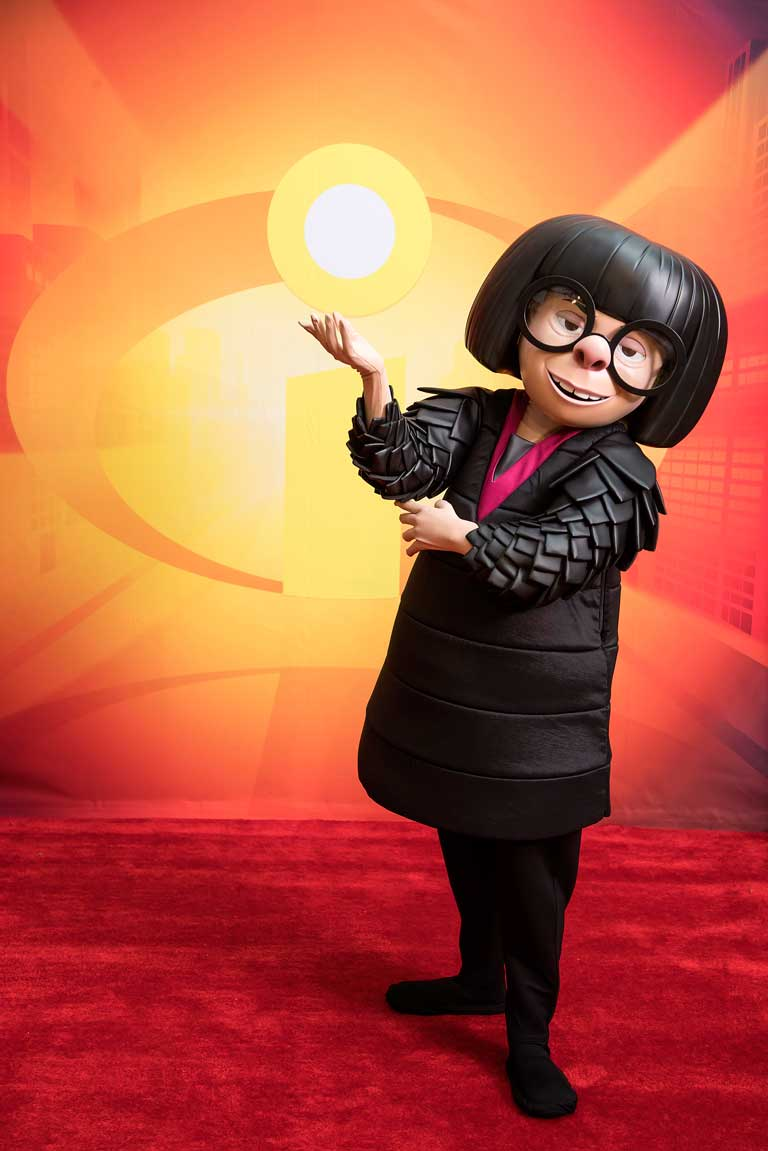Sassy yet refined. There's only one Edna Mode. Image courtesy of Disney.