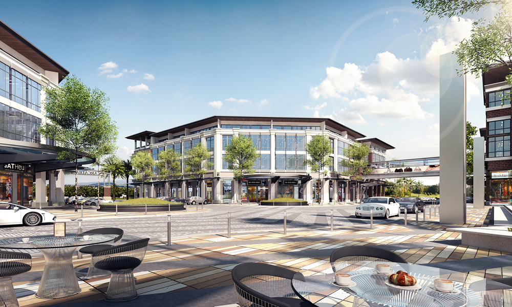 Victoria Plaza Central Court