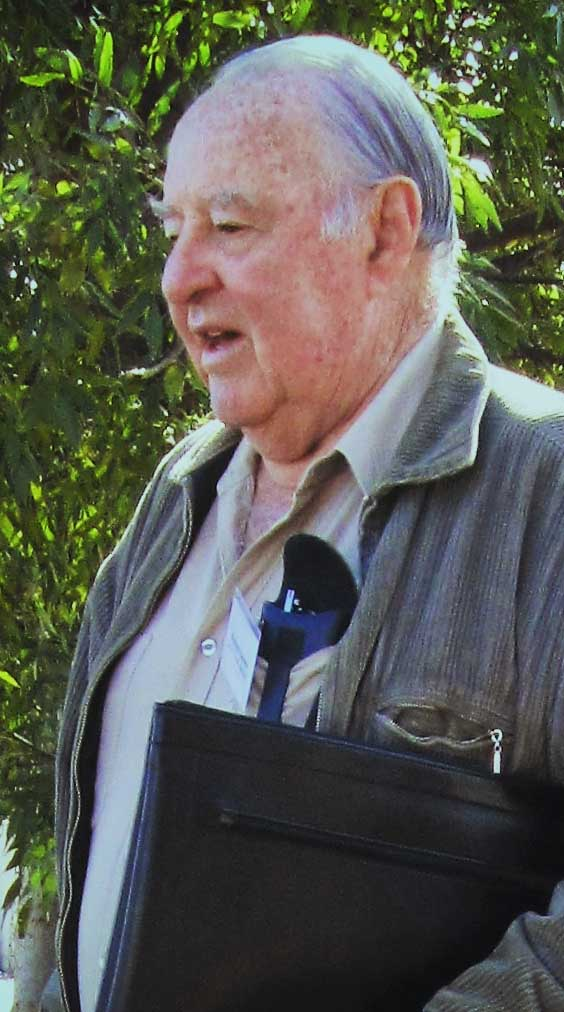 Graham Tucker of the National Trust of South Australia, Gawler Branch