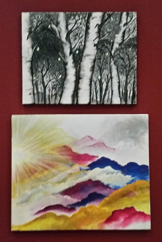 Seasons II and Come Up Higher by Hayley Kroschel