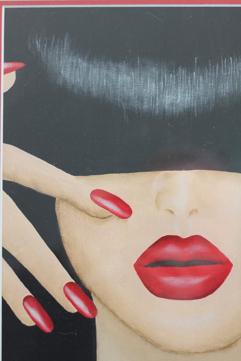 Red Lips by Jenny McNeill