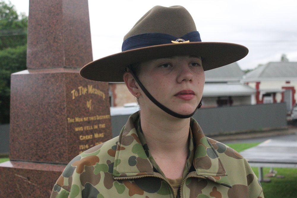 Cadet Corporal Courtney Semmler