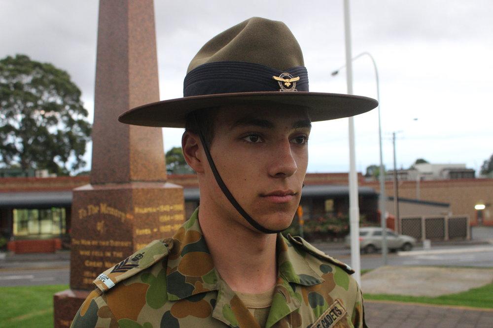 Cadet Flight Sergeant Benjamin Kurtz