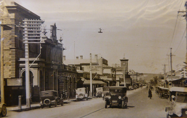 Murray St 1928  (Image courtesy of the  Gawler History Team )