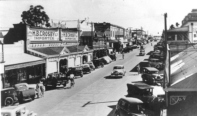 Murray St 1950s  (Image courtesy of the Gawler History Team)