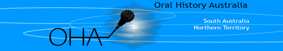Oral History Australia SA/NT Logo Link