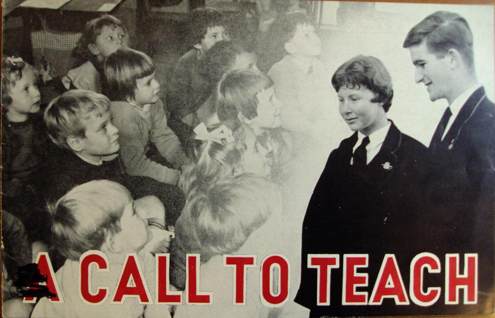 A Call to Teach