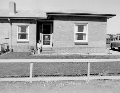 Ian's first Australian home at Winterbourne Road, Elizabeth Vale