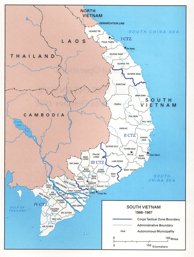 Map Vietnam courtesy Wikipedia