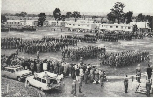 Passing out parade 1965 Puckapunyal