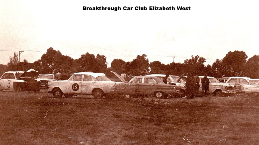 Breakthrough Stunt Car Club Elizabeth West