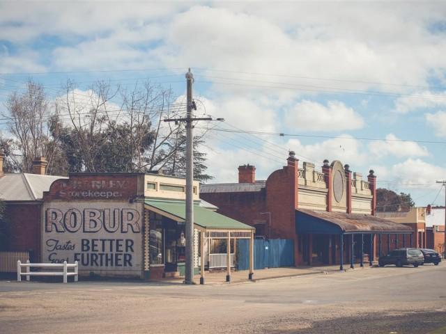 Street scene Rushworth courtesy Shire of Campaspe