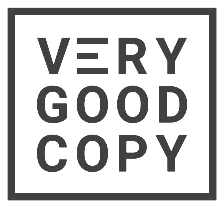 VeryGoodCopy - Copywriting & Content Marketing