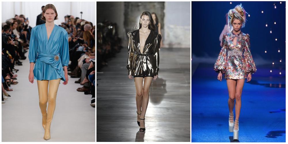 由左到右: Balenciaga, Saint Laurent, Marc Jacobs
