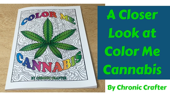 Color Me Cannabis Video Review stoner coloring book
