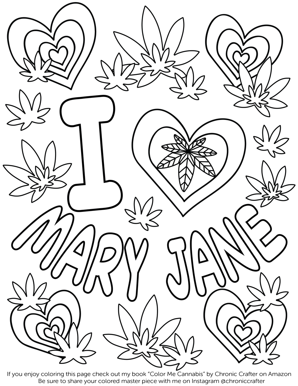 Valentine S Day Free Coloring Page Chronic Crafter