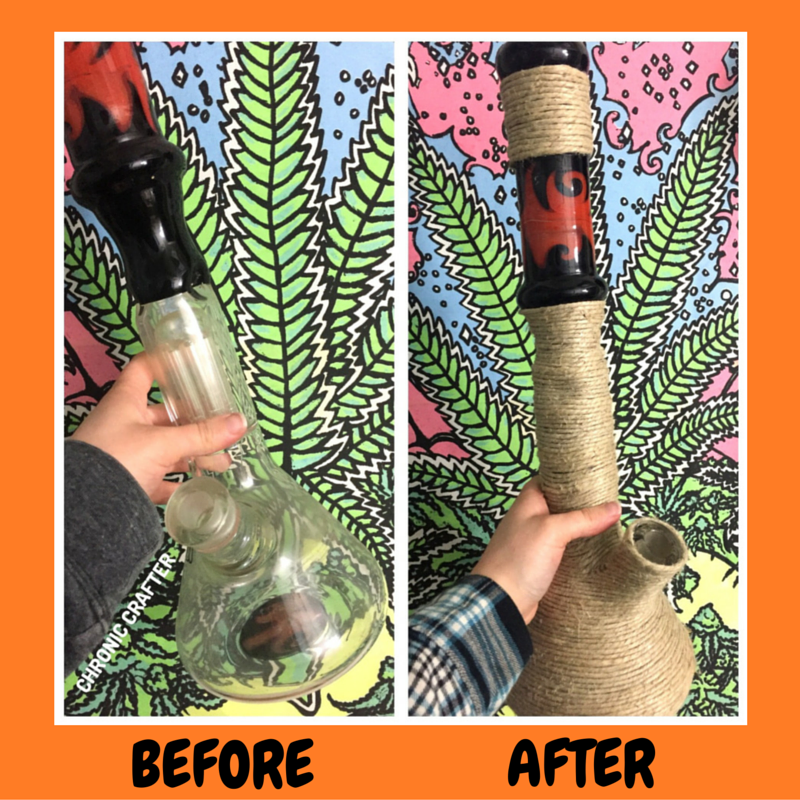Hemp Twine Bong Wrap Stoner DIY Craft