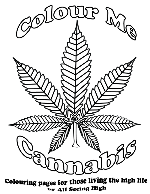 ash colouring book 01png marijuana - Cannabis Coloring Book