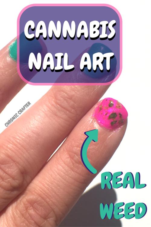 Diy cannabis nail art the marijuana manicure chronic crafter diy cannabis nail art the marijuana manicure prinsesfo Image collections