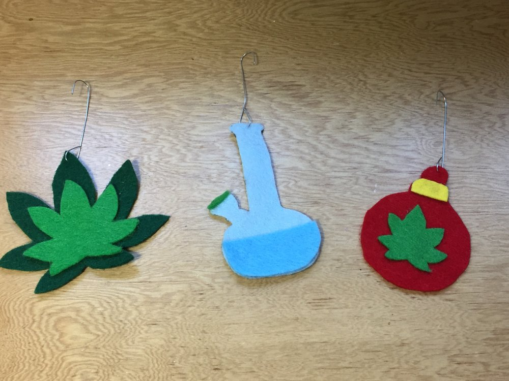 DIY Marijuana Themed Christmas (Kushmas) Ornaments