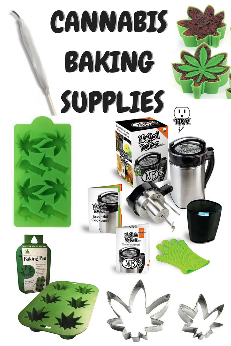 Baking Supplies for Cannabis Edibles